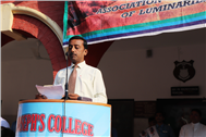 Association of Luminaries Conducted a Special Assembly on Personality Development