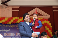 BIRTHDAY CELEBRATIONS OF PRINCIPAL REV. FATHER ROLFIE D'SOUZA