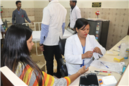 BLOOD DONATION CAMP AT SJC
