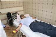 BLOOD DONATION CAMP AT SJC...