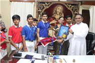 Class Magazine of Class VIII-C Released by the Principal