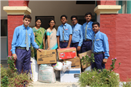 Donation By Students of  SJC