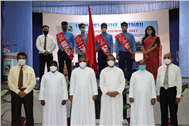 Future leaders appointed:SJC holds Investiture Ceremony for the session 2021-22