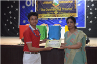 Inter House Declamation Competition