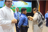 Investiture Ceremony (Junior Section) held at St. Joseph