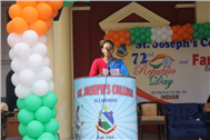 Republic Day festivities in St.Joseph's College made Special with Farewell to Loved Teachers