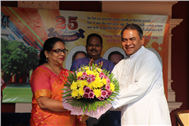 S.J.C. Honours 25 Years of Service of Three Educators...