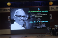 SJC bids a Warm Adieu to His Excellency Most Rev.Dr.Raphy Manjaly