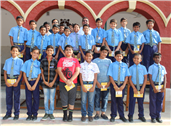 Special Assembly Conducted by Class VI-E
