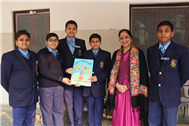 Special Assembly and Class Magazine of Class VII-B Released