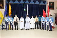 USHERING IN THE NEW LEADERSHIP-SJC HOLDS INVESTITURE CEREMONY